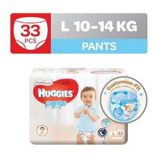 Huggies Platinum For Boys Pants L