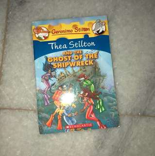 Geronimo stilton (thea stilton and the ghost of the shipwreck)