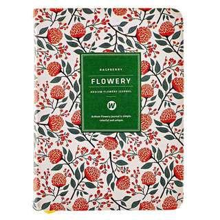 Ardium Floral Planner (Raspberry)