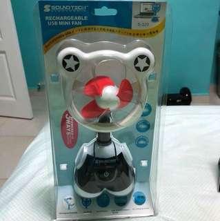 Soundtech Rechargeable USB Minifan