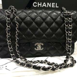 🔥Brand New🔥Chanel Classic Medium Caviar Black!