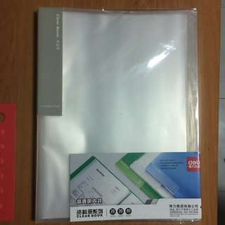 A4 Clear folder 30 pages