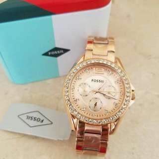 Fossil Rosegols women's  watch