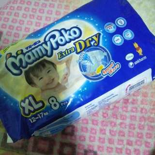 Mamypoko Diapers XL tape diapers