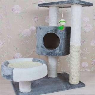 [BN] Charcoal Grey Cat Condo