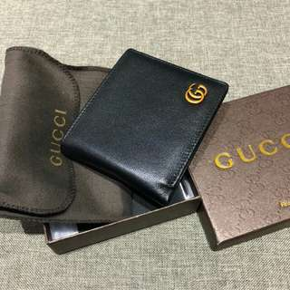 Gucci Leather Wallet Black Color