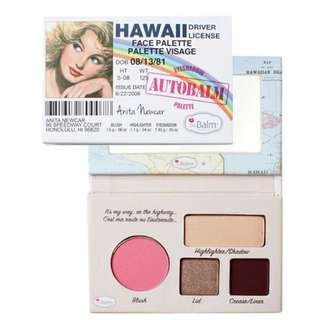 Hawaii Face Palette