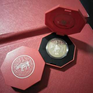 2pc of zodiac  $10 CNY coins