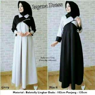 Isyana dress balotelly