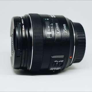 Lensa Canon EF 35mm f/2 IS USM