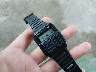 Jam Bekas Casio CA - 53W Kalkulator