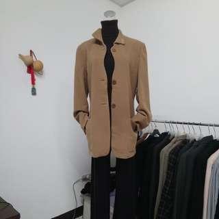 🇮🇹義大利製 喀什米爾優雅大衣
