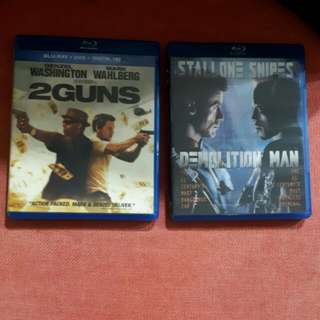 R04 $8 for 2 Blu ray Movies