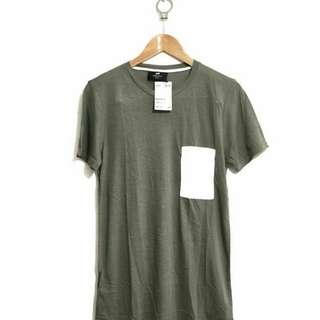 Men's Basic Tee Grey H&M
