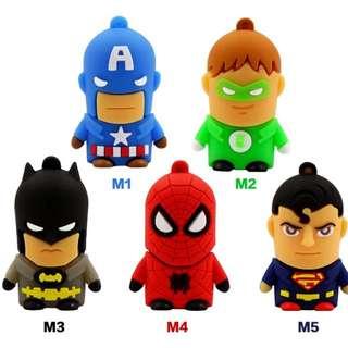 Superhero thumbdrive