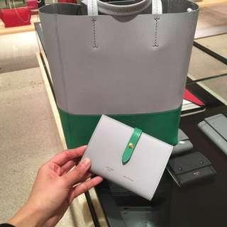 Celine strap wallet 皮包 銀包