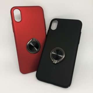 IPhone X 電話Case 硬邊 超薄 包iring