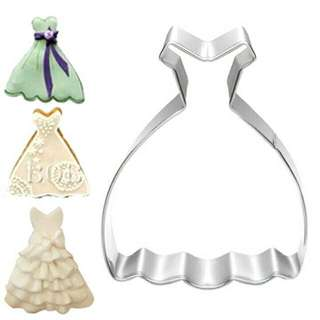 Wedding Gown Cookies Cutter