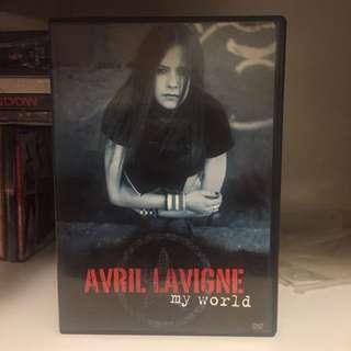 Avril Lavigne My World DVD CD