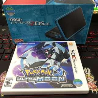New Nintendo 2DS XL Black x Turquoise