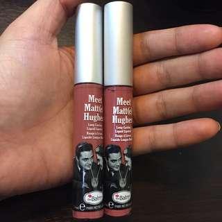 Meet matt(e) hughes long lasting liquid lipstick