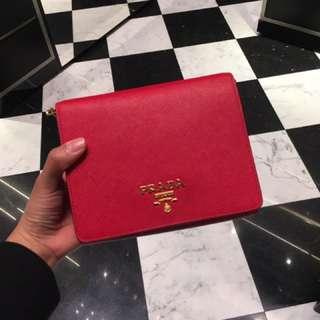 Prada saffiano crossbody bag 斜咩袋 mini bag