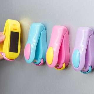 Handy mini sealer (perekat) plastik elektrik dgn baterai