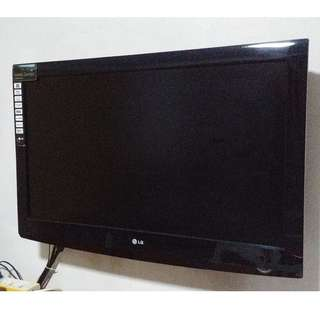 LG 42inch LCD TV w/entertainment system