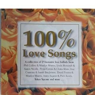 100% LOVE SONGS