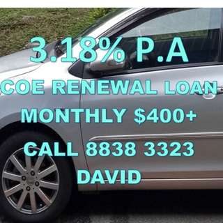 3.18% PA COE RENEWAL LOAN