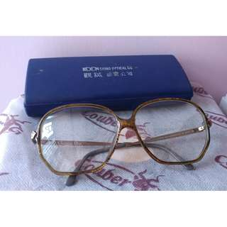 Christian Dior 2513-20 金砂眼鏡 Made in Germany