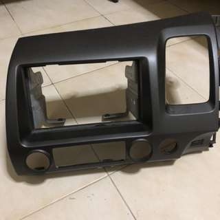 Honda civic headunit panel