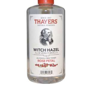 Thayers rose water