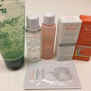 Skin care and Hair Care Travel Set