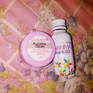Skinmate shark oil and placenta cream