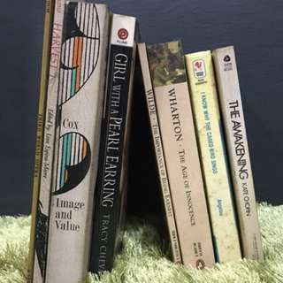 Various books