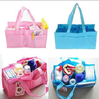 Diaper bag travel bag storage