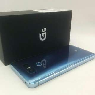 Blue 1 Year Sg Lg Warranty G6  Free Glass  Free Case  Preowned Set With Box  MH