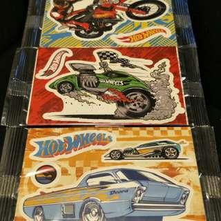 Hot Wheels stickers