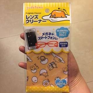 🍳 日本Japan Gudetama蛋黃哥 microfiber cloth 極細纖維布 for 眼鏡,mon, etc.