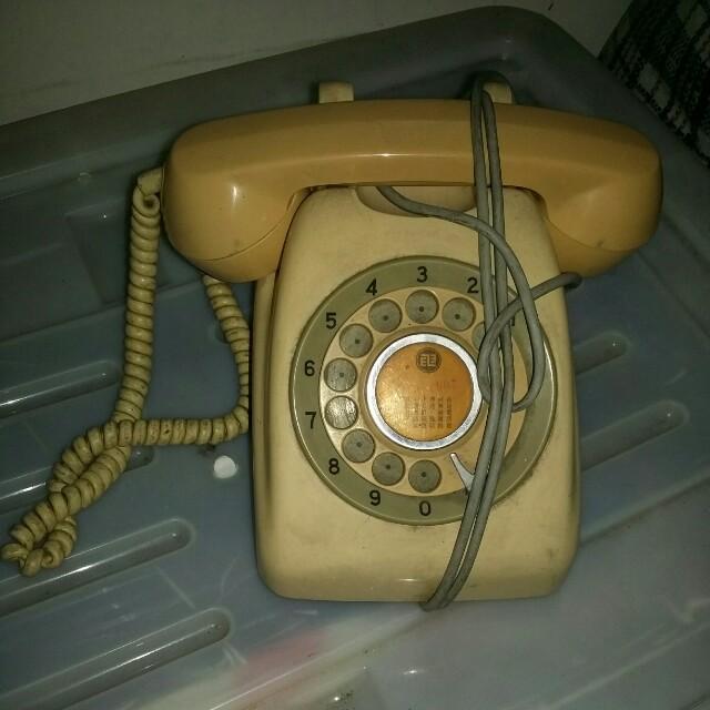 轉盤電話機
