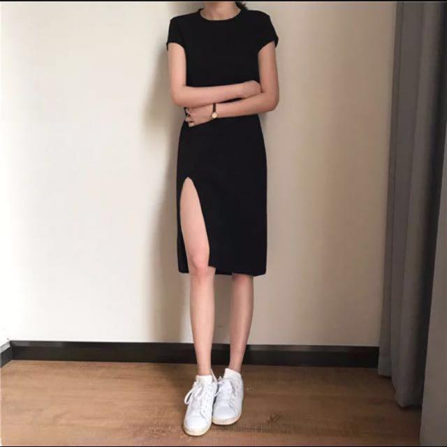 全新🔥開衩激瘦連衣裙