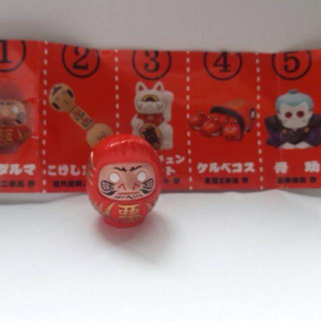 日本民俗技藝扭蛋 達摩