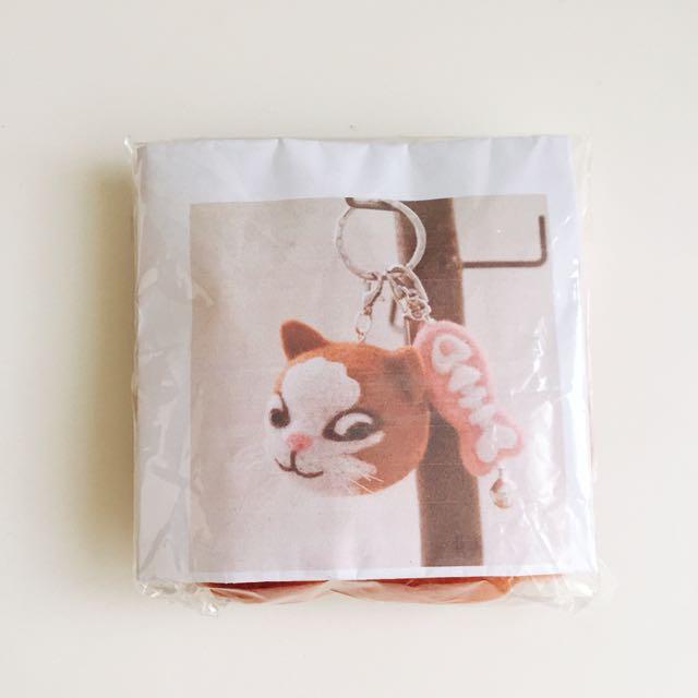 貓咪吊飾 羊毛氈 材料包