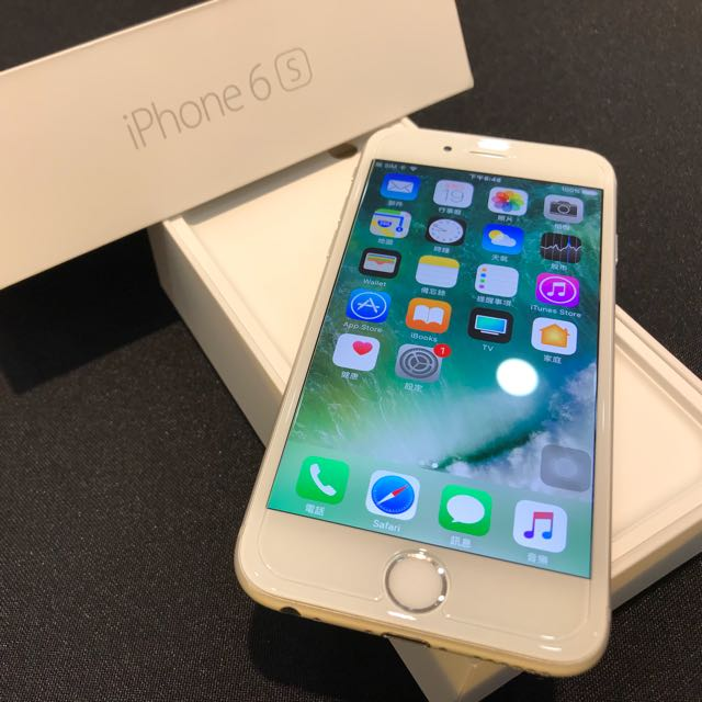 新電池 銀色iPhone6S 64G 盒裝 附全新充電頭 倍思傳輸線 無耳機(不議價)高雄鳳山可面交