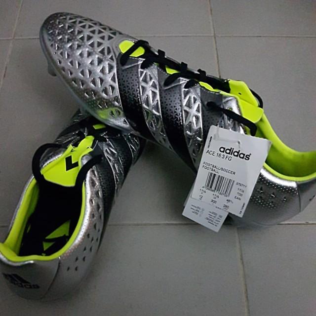 best authentic 8332d d90ce Adidas Ace 16.3 FG/AG - Brand New US 12 / UK 11.5 / EU 46 2/3