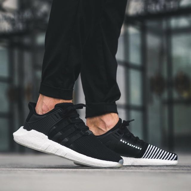 Adidas EQT Support 93 17 - Core Black and White f435c421d