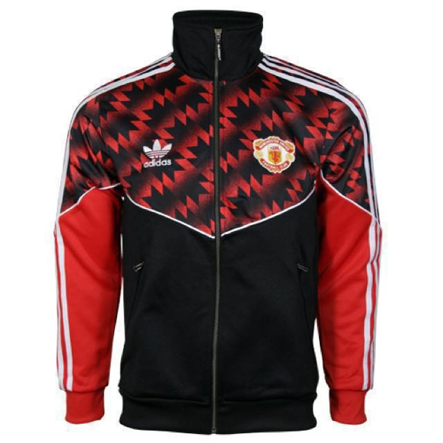 223e246a5dccd Adidas Manchester United 3-S Track Jacket