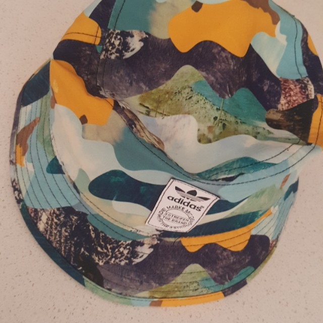 Adidas Mountain camo bucket hat cap