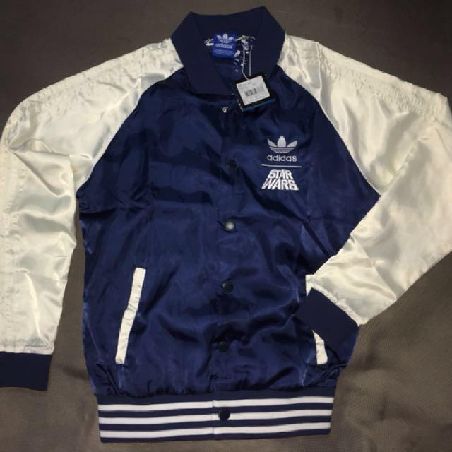adidas star wars bomber jacket